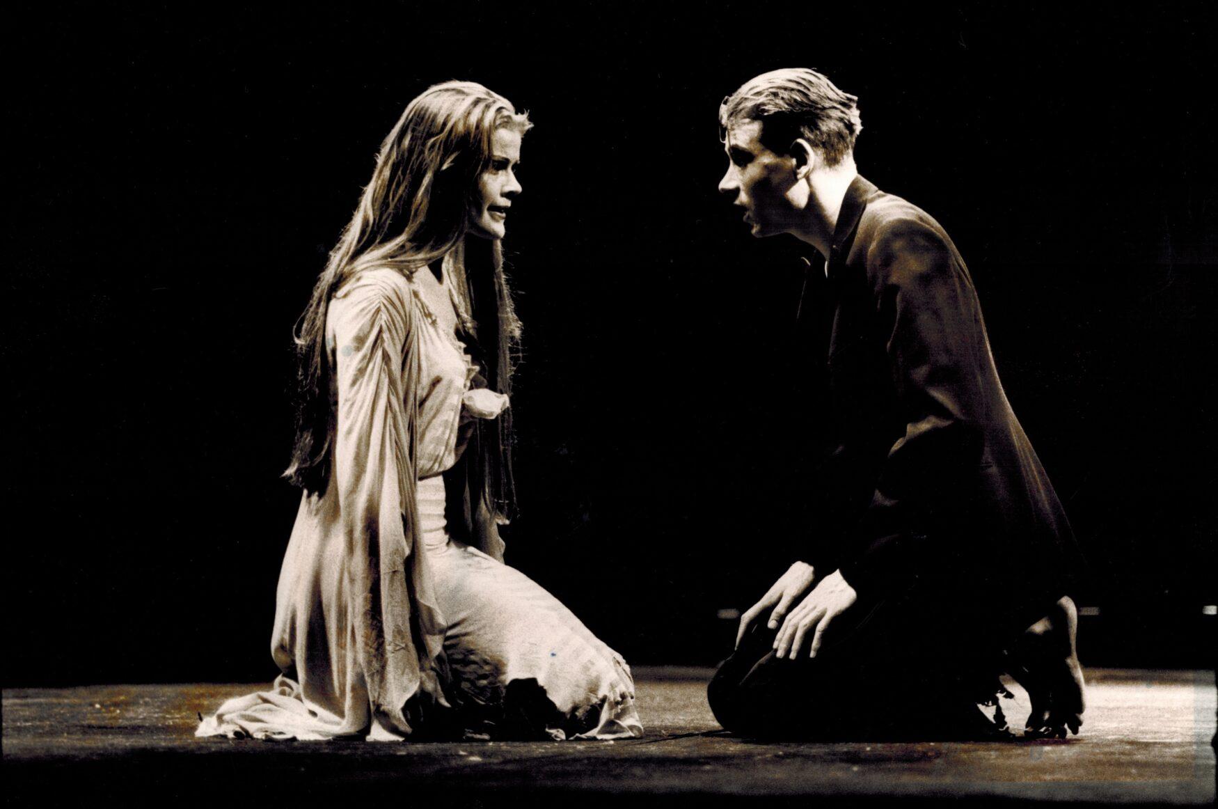 Persians van Tarenskeen met Marlene Goldstein (1995 Ben van Duin)